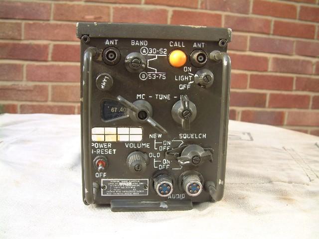 R-442/VRC VHF Vehicle Radio Receiver For M-151 Mutt Jeep, Humvee