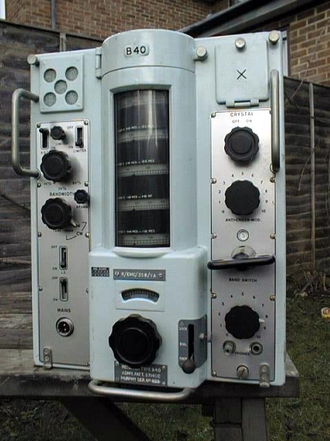 Murphy B-40 Communications Receiver