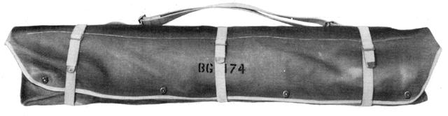 BC-1306 & GRC-9 Antenna Rods & Generator storage Bag BG-174