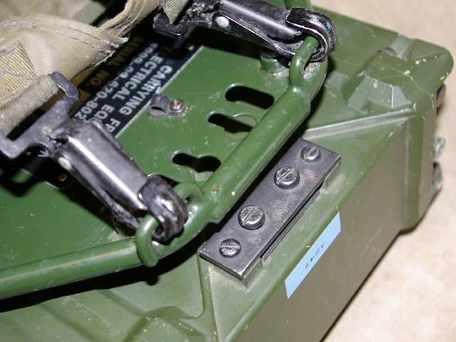 Clansman PRC-351 & PRC-352 Back-Pack Frame Adaptor