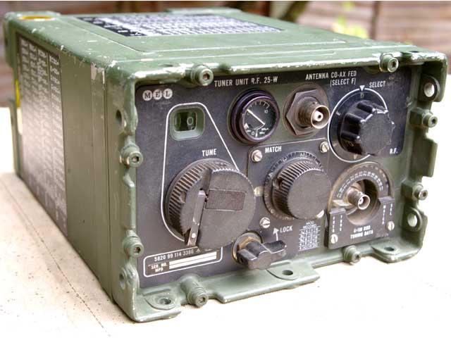 Clansman VRC-321 HF 25 Watt RF Antenna Tunning Unit TURF / ATU