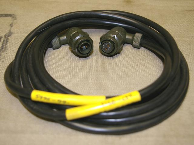 Clansman Radio & Equipment Power Cable