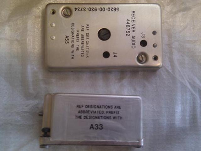PRC-77 Parts and Modules, NOS New Old Stock Original American Parts