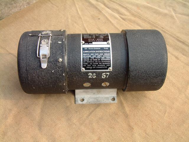 BC-1306 & GRC-9 Dynamotor DY-88
