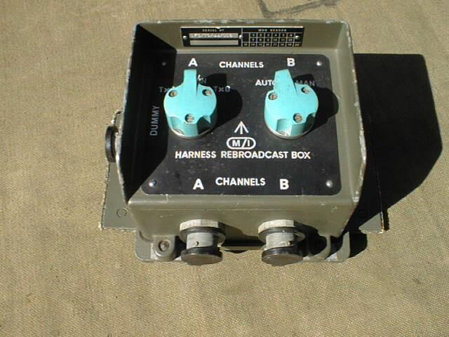 Clansman Harness Rebroadcast Box