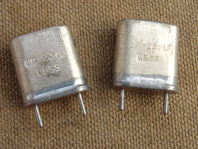 PRC-6 Crystal Pair