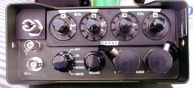 Racal TRA-967 VHF Manpack Transceiver
