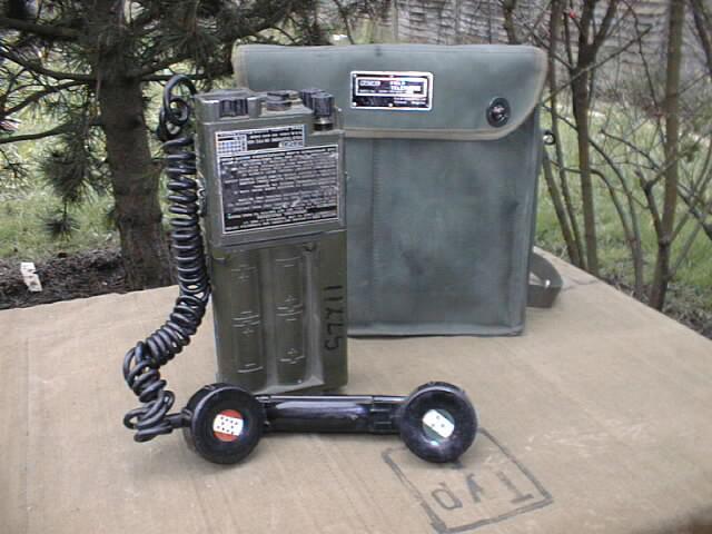 RACAL UK PTC-404 Field Telephone
