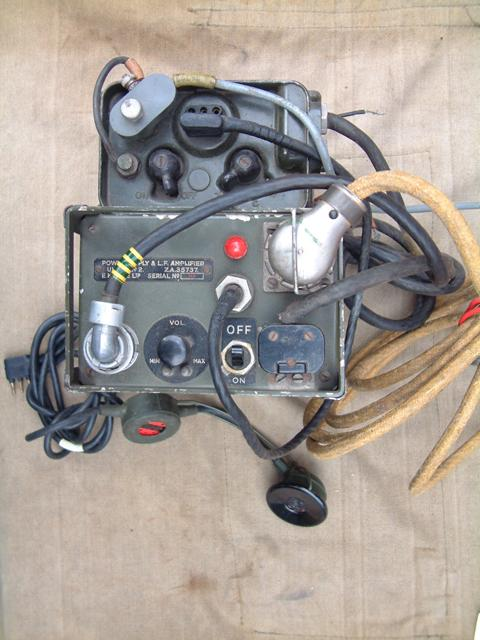 Wireless Set No.88 AFV Type A & Power Supply LF Amplifier No. 2