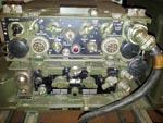 Philips RT-3600 45 Watt Dutch Army VHF Vehicle Transceiver, Complete Vehicle Setup